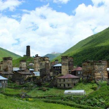 Aukščiausias Europoje - Ušugli kaimas.