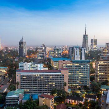Nairobis - moderni Kenijos sostinė.