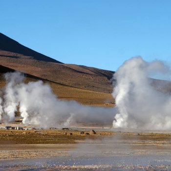 Čilė. El tatio geizeriai.