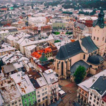 Lvovo miestas.