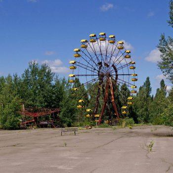 Apleistas Pripetės miesto apylinkės. Istorinė kelionė LDK pėdsakais Kijeve su apsilankymu Černobylyje